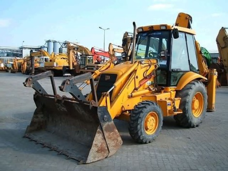 Are you an artist, a musician or even a writer? Forget that, learn to drive this big yellow JCB instead!
