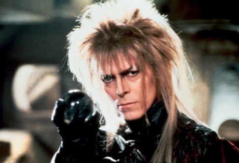 David Bowie as the Goblin King in The Labyrinth (1986)