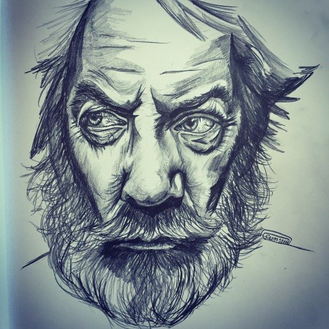 Donald Sutherland Sketch